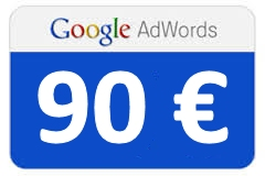 google adwords kupon 90 eur
