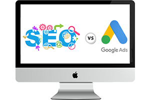 google oglasi vs. SEO